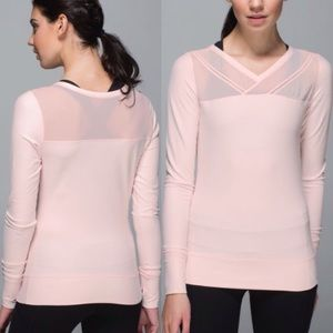 Lululemon Just Breathe Long Sleeve Size 8